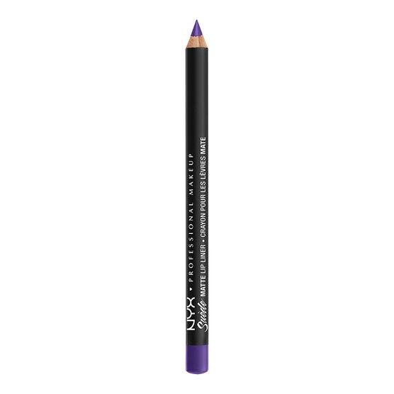 NYX Professional Makeup Suede Matte Lip Liner - Amethyst