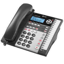 AT&T 4-Line Corded CID ITAD Office Phone - Black - 1080