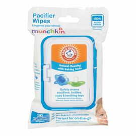 Munchkin Pacifier Wipes - 36's