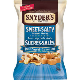 Snyder's of Hanover Pretzel Pieces - Sweet & Salty - 240g