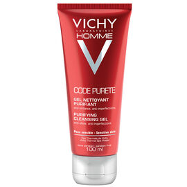 Vichy Homme Code Purete Purifying Cleansing Gel - 100ml