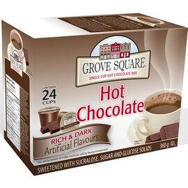Grove Square Hot Chocolate - Dark Chocolate - 24 pack