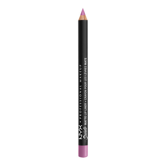 NYX Professional Suede Matte Lip Liner - Respect the Pink