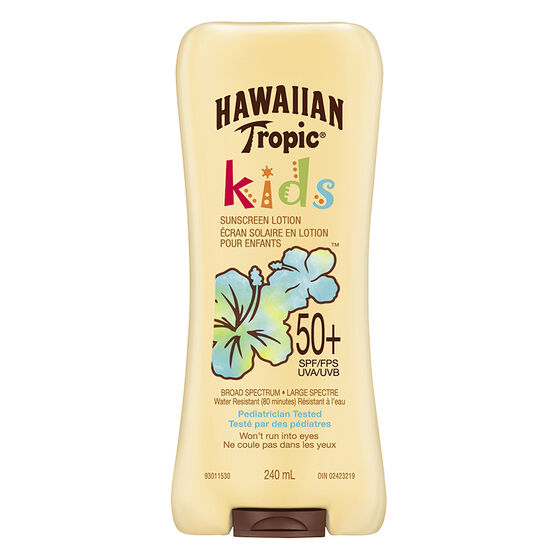 Hawaiian Tropic Kids Sunscreen Lotion - SPF50 - 240ml