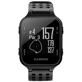 Garmin Approach S20 Golf GPS Watch- Black - 0100372301