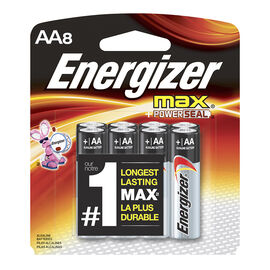 Energizer Max Battery - AA - 8 pack