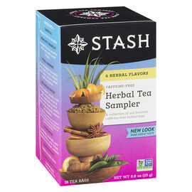 Stash Herbal Tea Sampler - Assorted Flavours - 18's