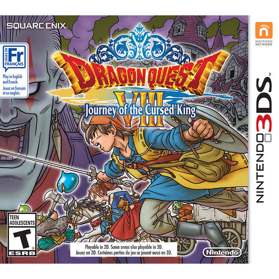 3DS Dragon Quest VIII Journey of the Cursed King