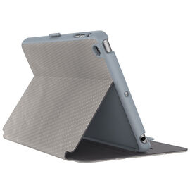 Speck StyleFolio Luxury Edition Case for iPad mini 4 - Metallic Titanium Grey - SPK-73958-C241