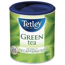 Tetley Decaffeinated Green Tea - 24's