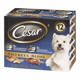 Cesar - Sirloin & Pork - 12x100g