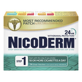 Nicoderm Clear Step 1 - 21mg - 14's