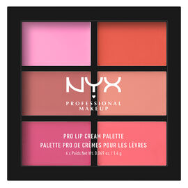 NYX Professional Makeup Lip Cream Pallete