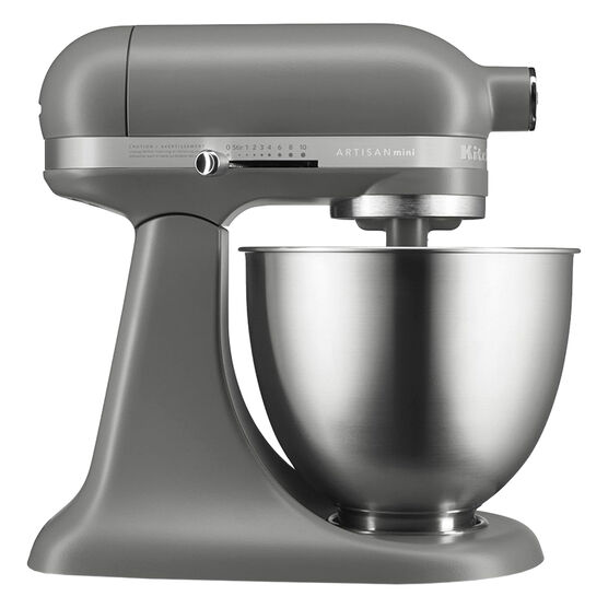KitchenAid 3.5Q Artisan Mini Mixer - Matte Grey