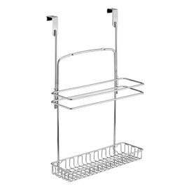 InterDesign Over the Closet Door Organizer - Chrome