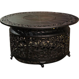 Whistler Cast Aluminum Propane Fire Table - Black