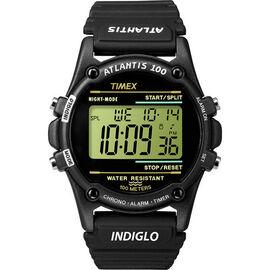 Timex Expedition Chrono Alarm Timer Watch -Black - T5K463GP