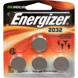 Energizer Lithium Battery - CR2032 - 4 Pack