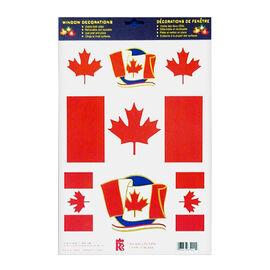Canada Flag Window Clings