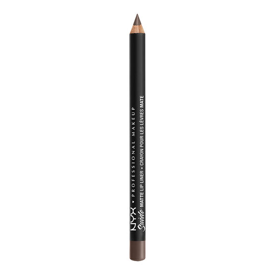 NYX Professional Suede Matte Lip Liner - Brooklyn Thorn