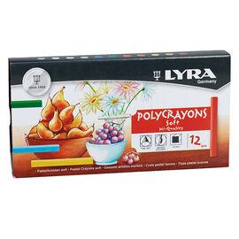 Lyra Polycrayons Chalk - 12 pack - 5651120