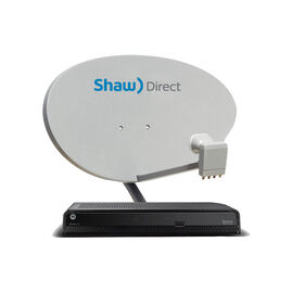 Shaw Direct HD Satellite Receiver - Black - HDDSR600