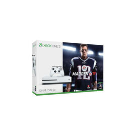 PRE ORDER: Xbox One S 500GB Console – Madden NFL 18 Bundle - ZQ9-00317