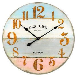 London Drugs Round Wall Clock - Old Town London - 57cm