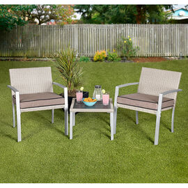Polywood Rattan Patio Set - 3 piece