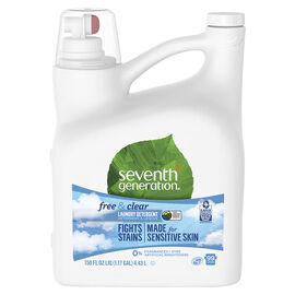 Seventh Generation 2X Laundry HE Detergent - Free and Clear - 4.44L