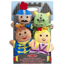 Melissa & Doug - Palace Pals Hand Puppets