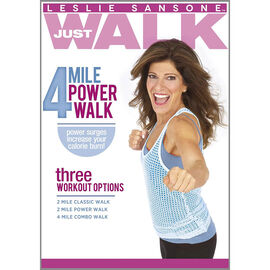 Leslie Sansone: 4 Mile Power Walk - DVD