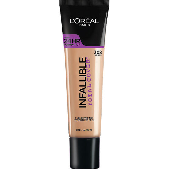 L'Oreal Infallible Total Cover Foundation - Sun Beige