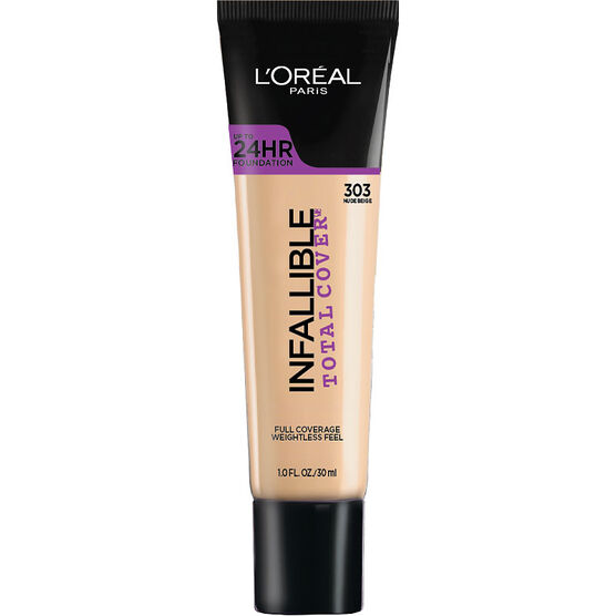 L'Oreal Infallible Total Cover Foundation - Nude Beige