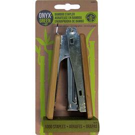 Onyx Green Stapler - Bamboo