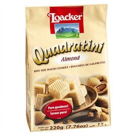Loacker Quadratini - Almond - 220g