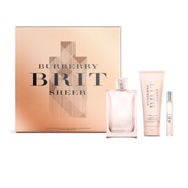 Burberry Brit Rhythm Sheer Gift Set - 3 piece