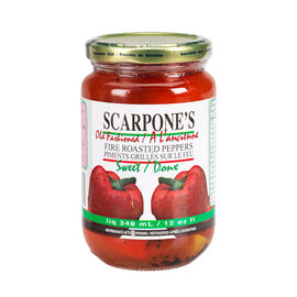 Scarpones Fire Roasted Peppers - Sweet - 340ml