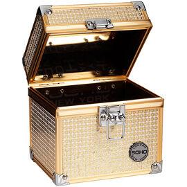 London Soho New York Glam Beauty Case - Gold
