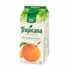 Tropicana Pure Premium Homestyle Orange Juice- 1.75L