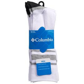 Columbia Men's Crew Socks - 3 pack
