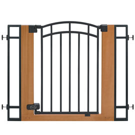 Summer Infant Wood and Metal Walk-Thru Gate - 07534Z