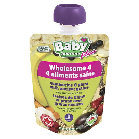 Gourmet baby food