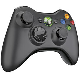 Xbox 360 Wireless Gamepad - Black - NSF-00023