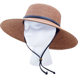 Sloggers Wide Braided Hat - Dark Brown