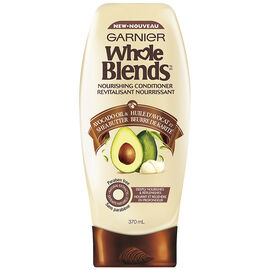 Garnier Whole Blends Nourishing Conditioner - Avocado Oil & Shea Butter - 370ml