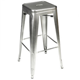 London Drugs Metal Stool - Silver