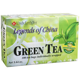 Uncle Lee's Tea - Green Tea - 100's