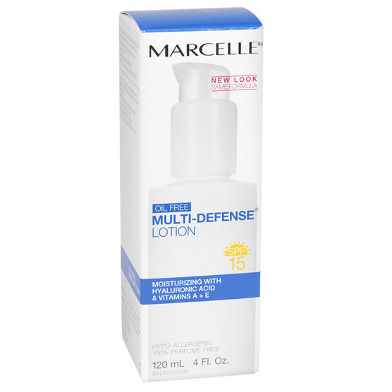 Marcelle Essentials Oil-Free Multi-Defense Lotion - SPF 15 - 120ml