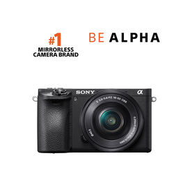 Sony a6500 with 16-50mm Lens - Black - ILCE6500KIT